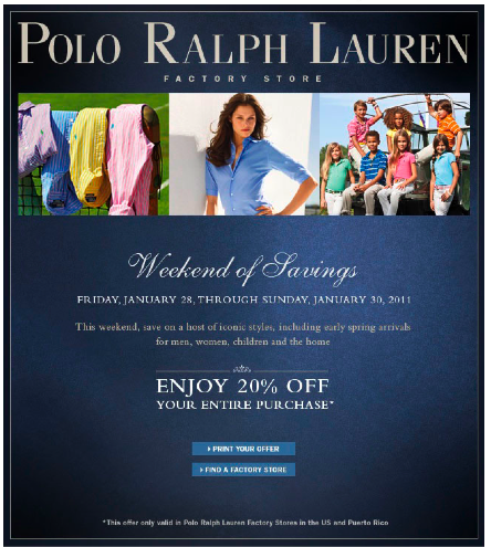 Polo Coupon January 2011