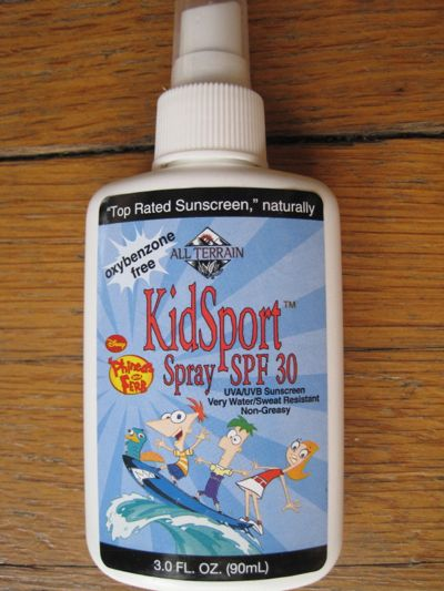 All Terrain Kid Sport Spray SPF 30 UVA/UVB Sunscreen Review & Giveaway