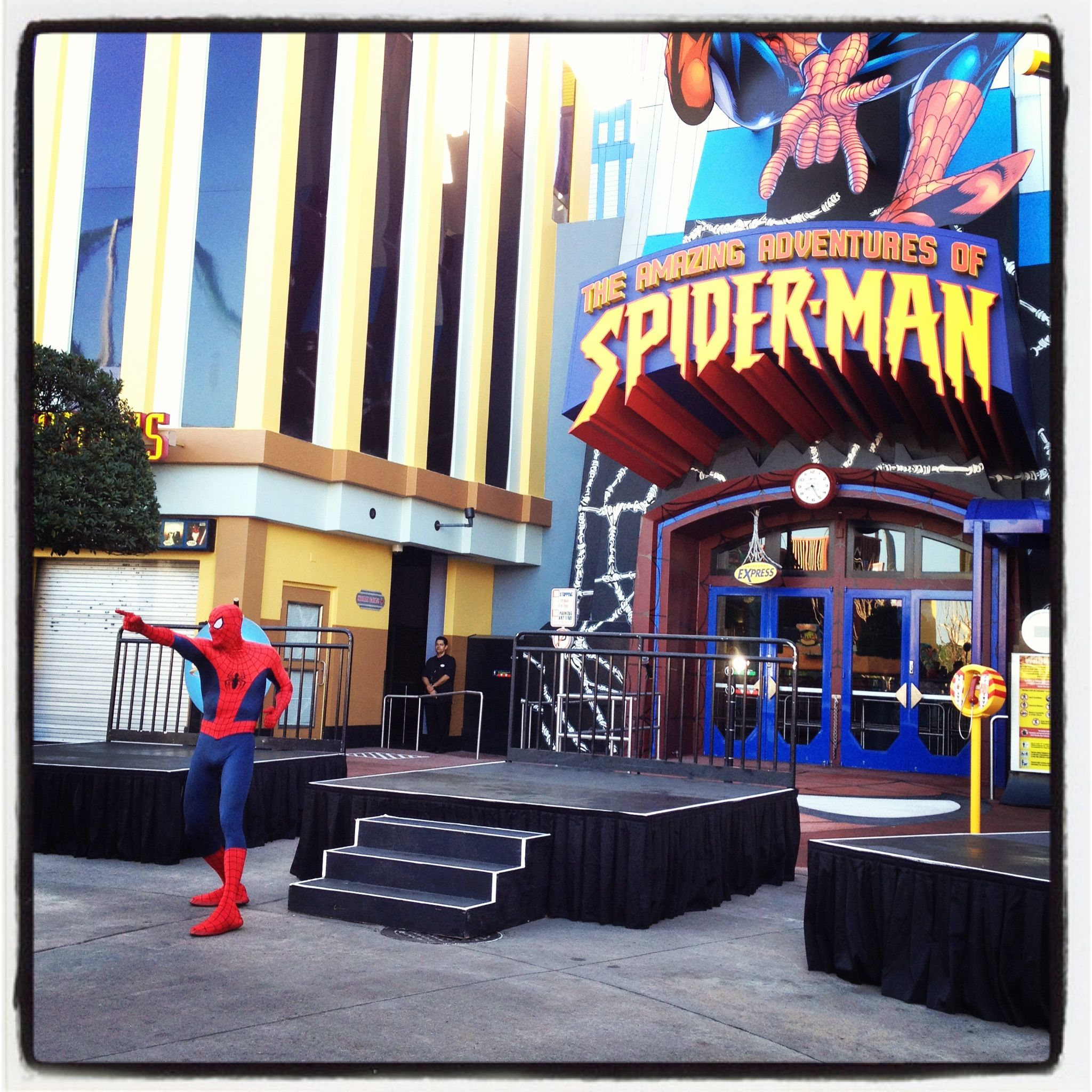 Islands of Adventure: Reopening Ceremony For The Spider-Man Ride