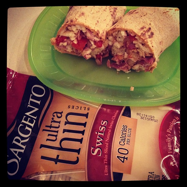 Sargento Ultra Thin Sliced Cheese Healthy Breakfast Recipe PLUS Giveaway