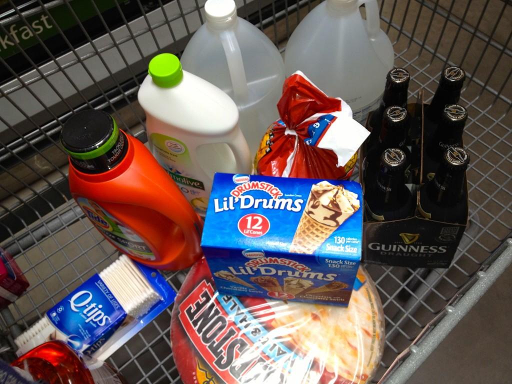 Walmart Cart for #GrabSummerFun