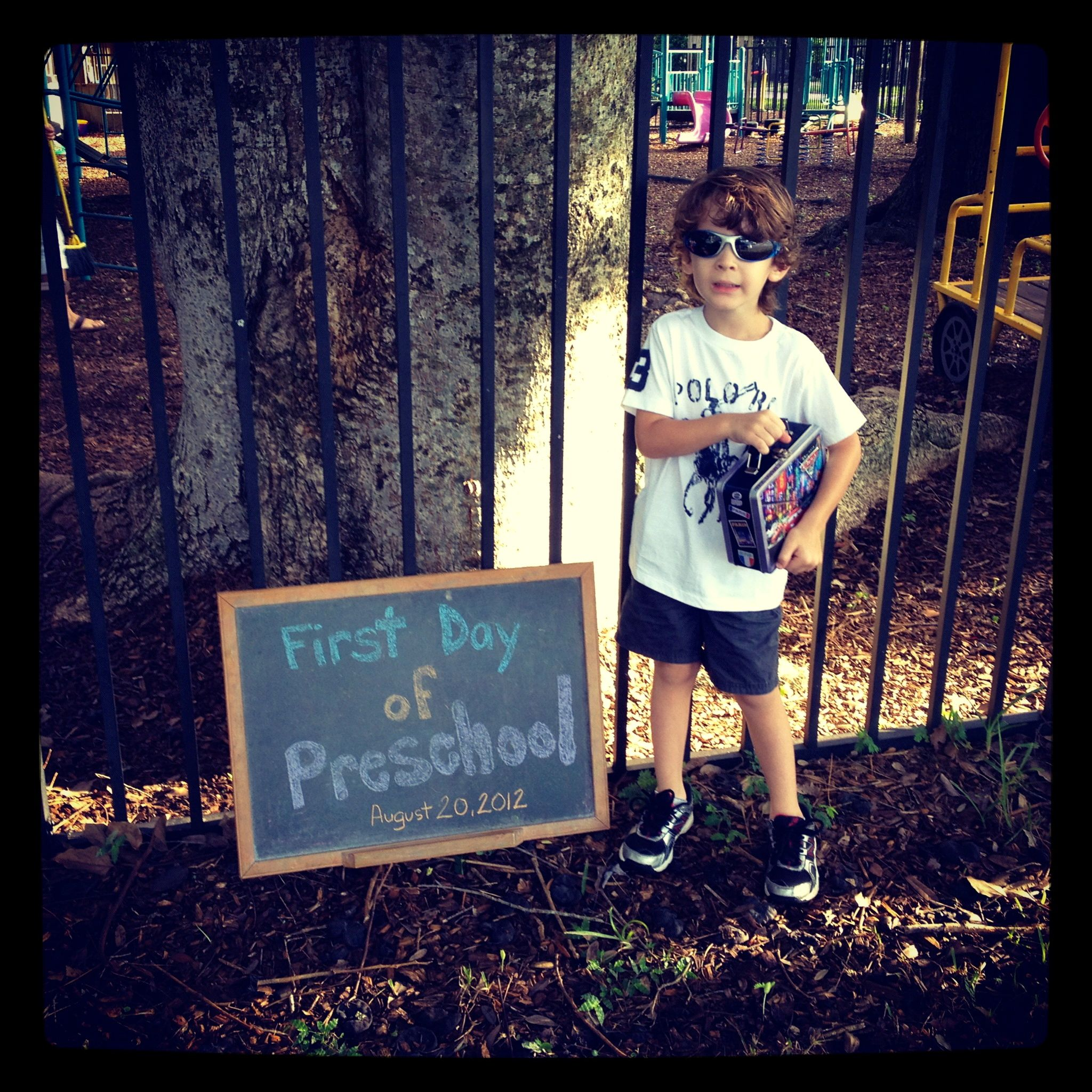 Wordless Wednesday: School Started, What To Do With All This Free Time?