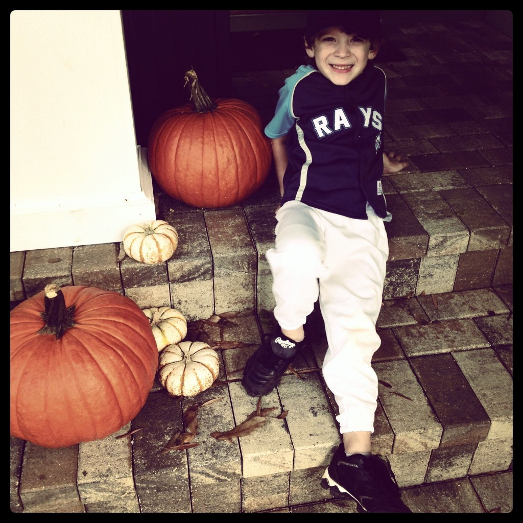 Happy Halloween From My Little Pumpkin
