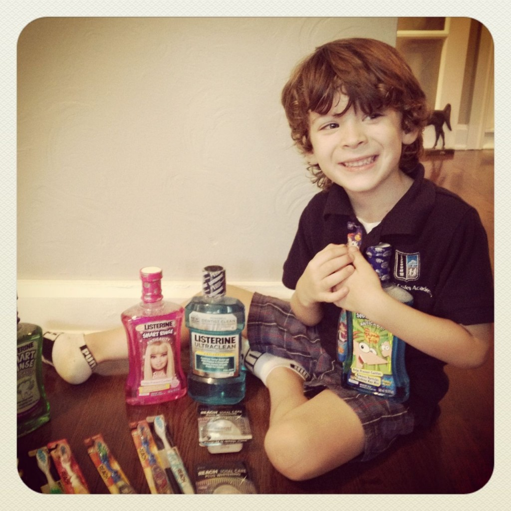 Join Me And Take The LISTERINE #SweetSmart Challenge