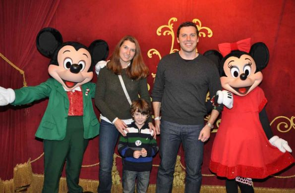 Our Family Tradition: Mickey's Very Merry Christmas Party 2012