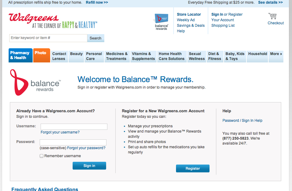 #HappyHealthy Joining Walgreens Balance Rewards Program