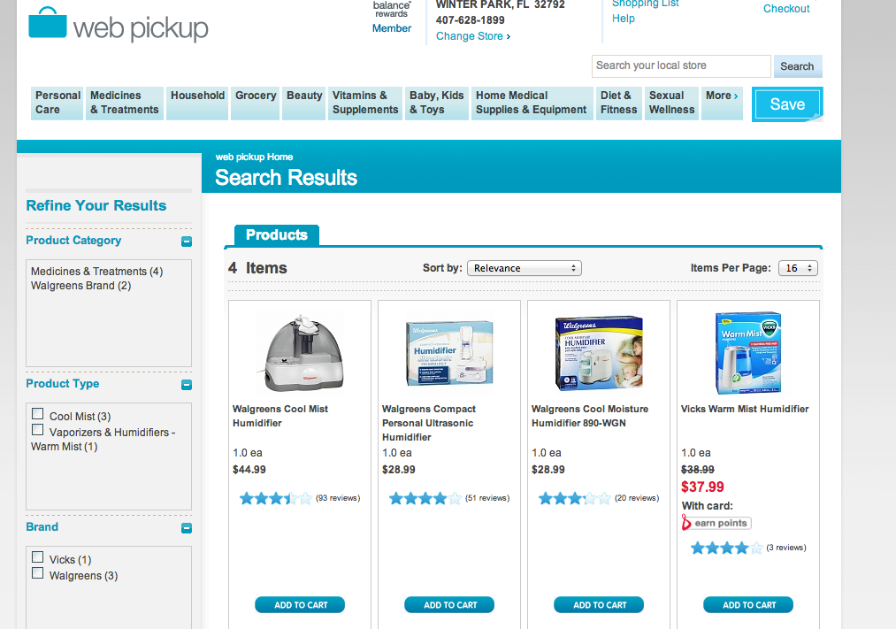 Researching Products Before Purchasing Using Walgreens Web Pickup Service #HappyHealthy