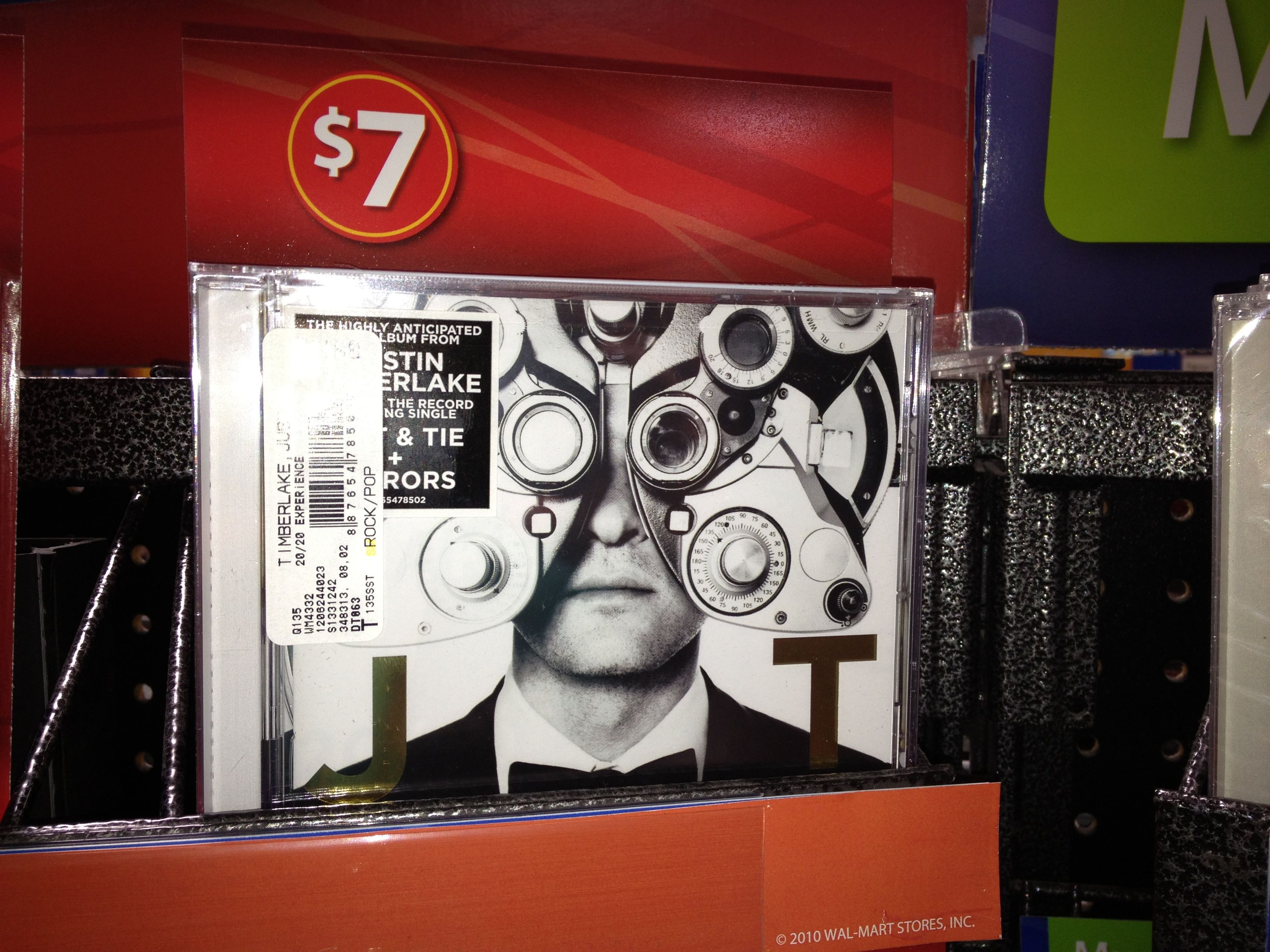 Buy Justin Timberlake's The 20/20 Experience CD For $7 At Walmart #JT2020