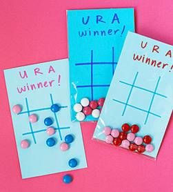 DIY Game Lovers Greeting Valentine's Day Cards