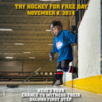 Try #Hockey For Free On November 8th