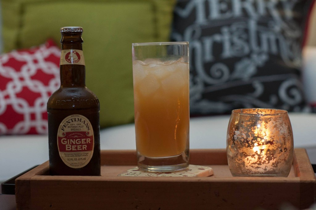 Apple Cider & Ginger Beer Cocktail