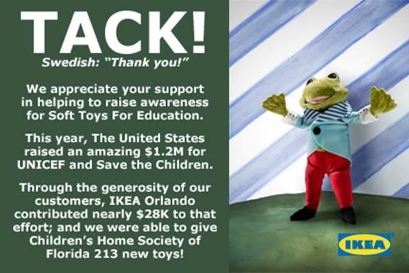 Tack IKEA Soft Toys