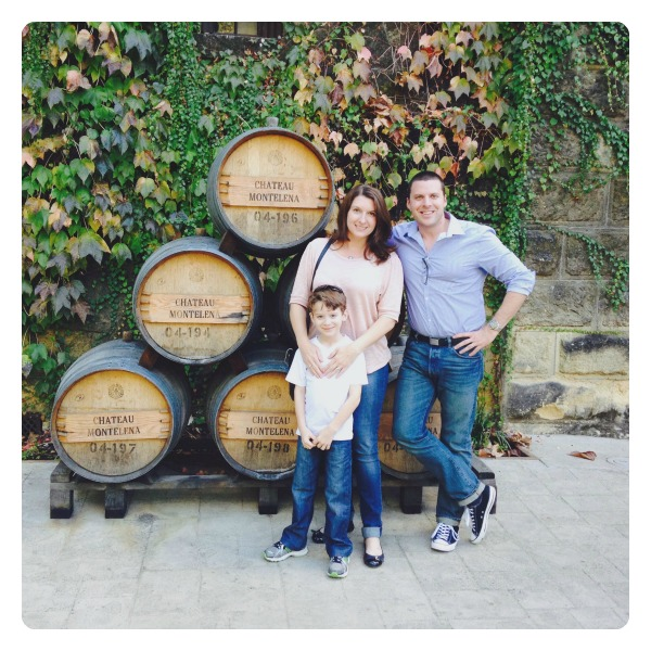 2014 Family Photo at Chateau Montelena