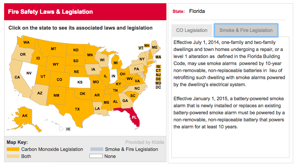 Florida Fire Safety Laws & Legislation