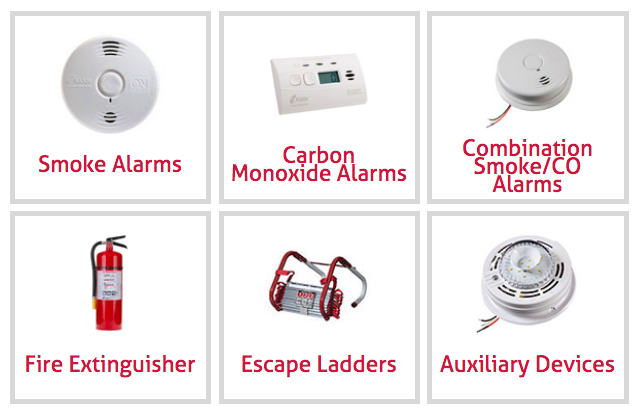 Kidde Fire Safety Products