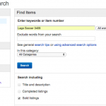ebay Tip: Determine Pricing By Searching Sold Listings