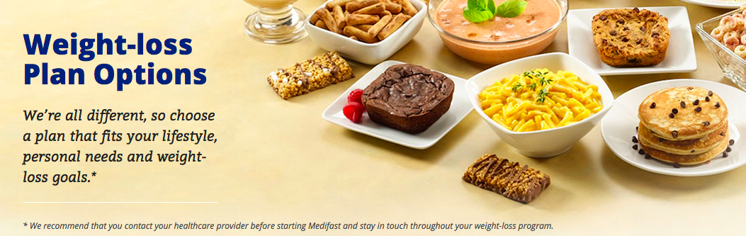 Medifast Weight-loss Plan Options