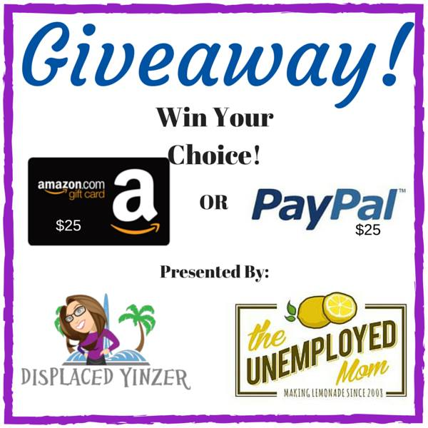 $25 Amazon Or Paypal Cash #Giveaway