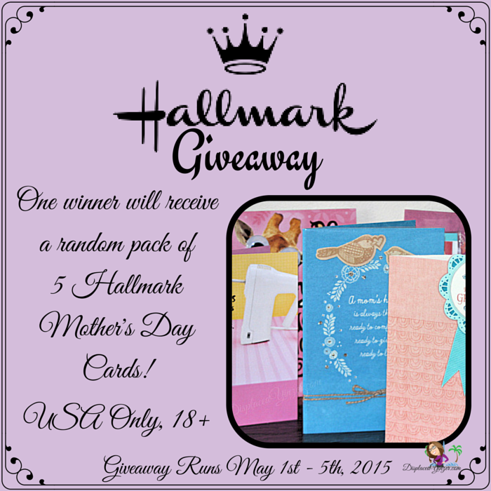 #PutYourHeartToPaper #LoveHallmark Mother's Day Card Giveaway