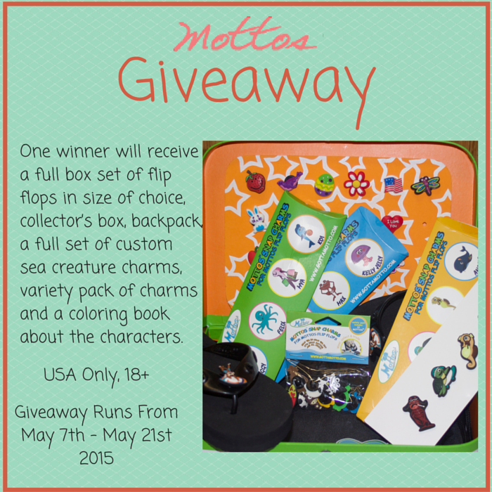 Mottos Flip Flops And Charms #Giveaway