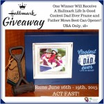 #LoveHallmark Father's Day Hallmark #Giveaway
