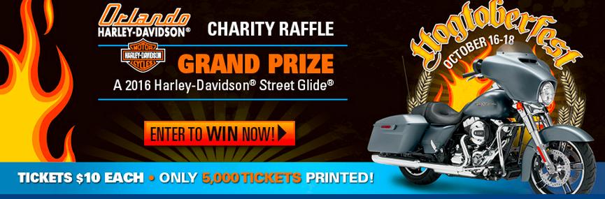 2016 Second Harvest Food Bank Charity Raffle Harley Davidson