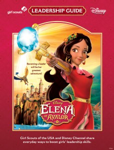 ELENA OF AVALOR - Girl Scouts of the USA encourages girls and their families to practice leadership skills the Girl Scout way with inspiration from Disney Channel's new animated series Elena of Avalor. (Disney Channel)