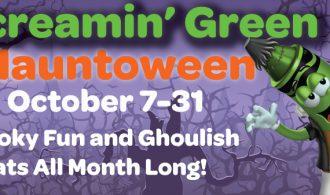 Screamin' Green Hauntoween At Crayola Experience October 7-31