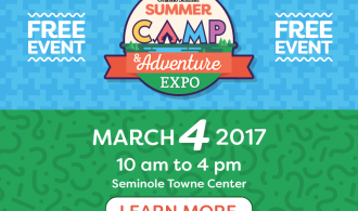 Free Summer Camp & Adventure Expo At Seminole Towne Center Mall