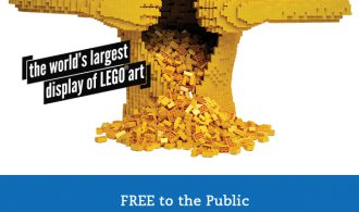 The Art Of The Brick – Experience The World's Largest Display of LEGO Art For Free