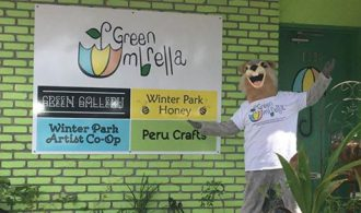 Grab A Free Starter Plant And Winter Park Honey Samples At Green Umbrella