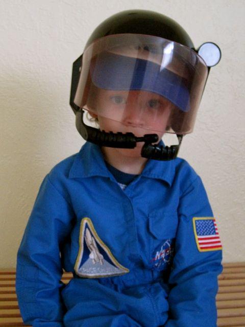 Wordless Wednesday: My Little Astronaut