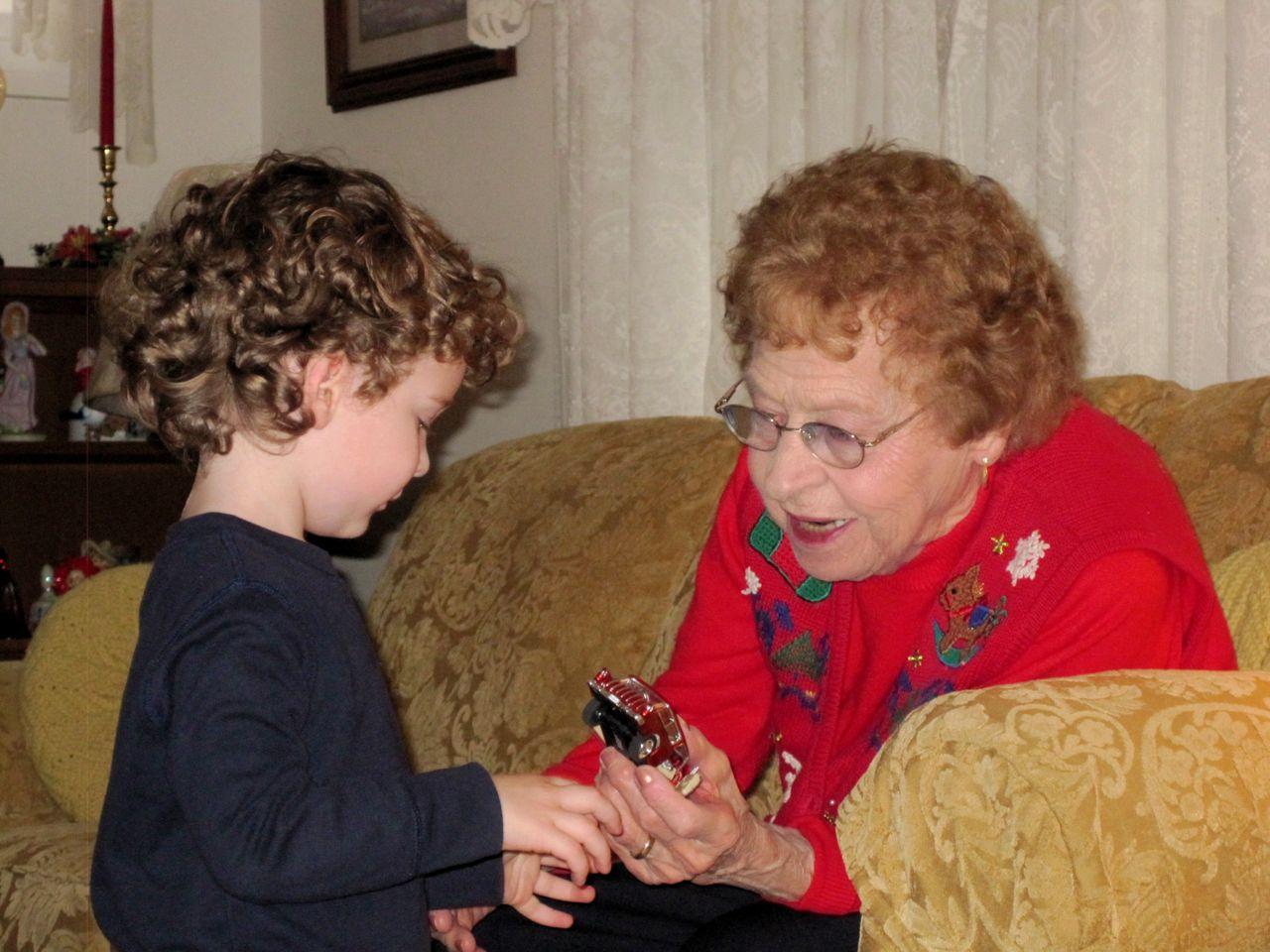 Wordless Wednesday: Sweet Memories With Great Grandma