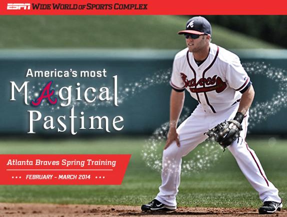 Atlanta Braves Baseball Spring Training Mini Plans On Sale NOW