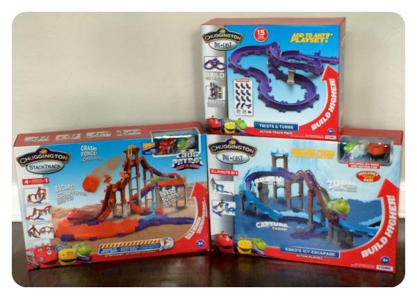 Chuggington StackTrack Megabuild Rocky Ridge Roller Coaster Review & #Giveaway