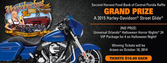 Win A Harley-Davidson At Hogtoberfest 2014 & Support Second Harvest Food Bank