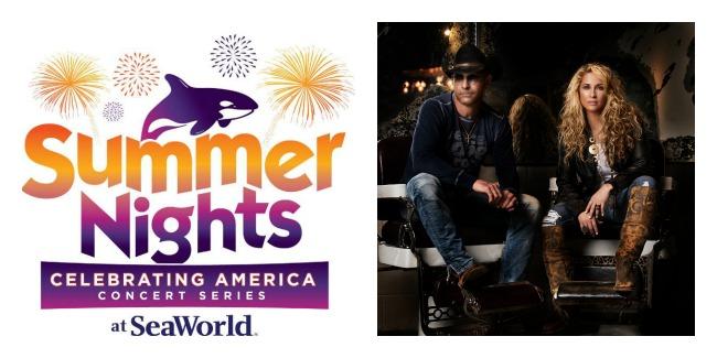 Trick Pony Kicks Off #SummerNights Concert Series At #SeaWorld Orlando