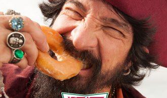 #TalkLikeAPirate On 9/19 For Free Krispy Kreme Doughnuts